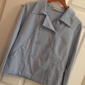 Pale blue Gap jacket